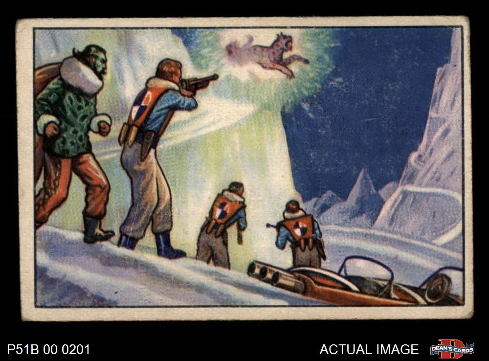 Amazon.com: 1951 Bowman Jets Rockets and Spacemen # 58 Polar ...
