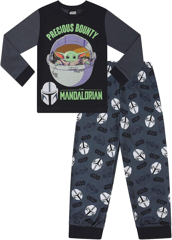 Jungen Star Wars Baby Yoda The Mandalorian Precious Bounty Pyjama-Set