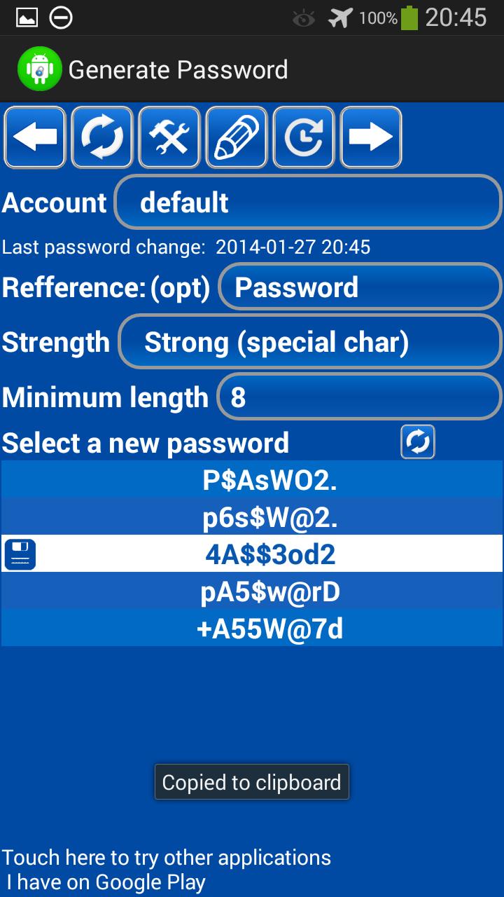Generador de contraseñas free: Amazon.es: Appstore para
