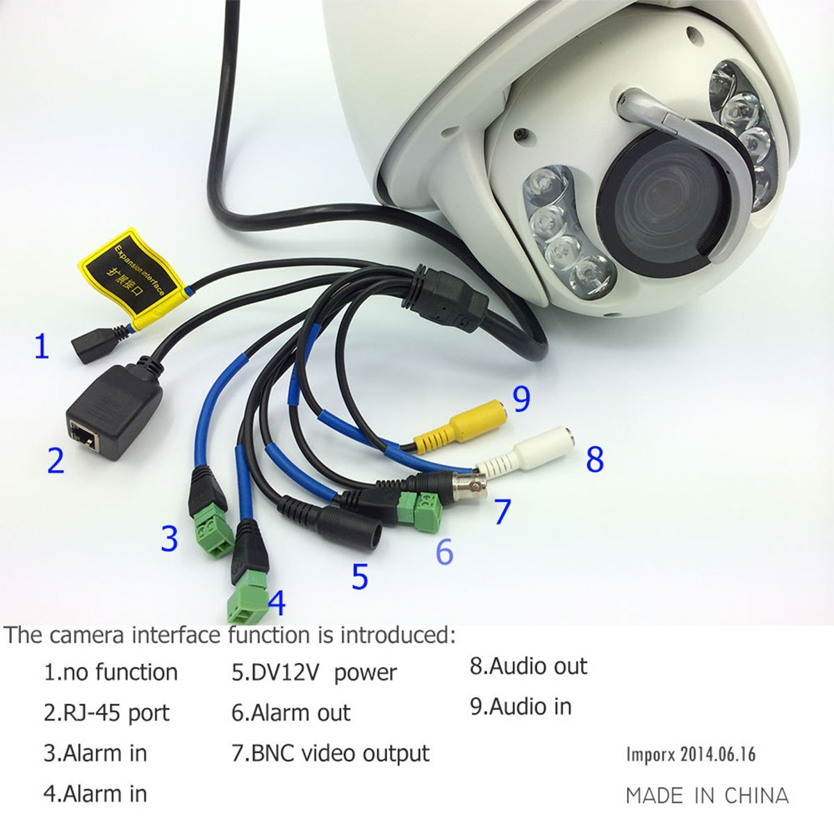Amazon Com Imporx Cctv Auto Tracking Ptz Ip Camera 1080p Full Also With IP  Security Camera System Wiring Diagrams Moreover Amazon Com Imporx Cctv Auto  ...