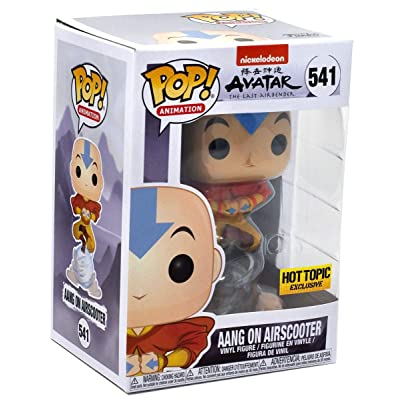 Avatar: The Last Airbender - Aang on Airscooter Pop! Exclusive: Toys & Games