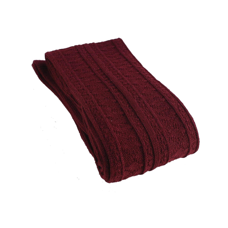 tukis portes dhiver chaud au-dessus du genou Jambi/ères Extra Longue cuisse haute chaussettes Leggings Bleu marine Chaussettes genou tricot/ée Grande Femme