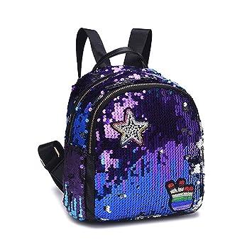 3cf4dea5ee40 Amazon.com | Magibag Mini Mermaid Sequin Backpack Fashion Casual ...