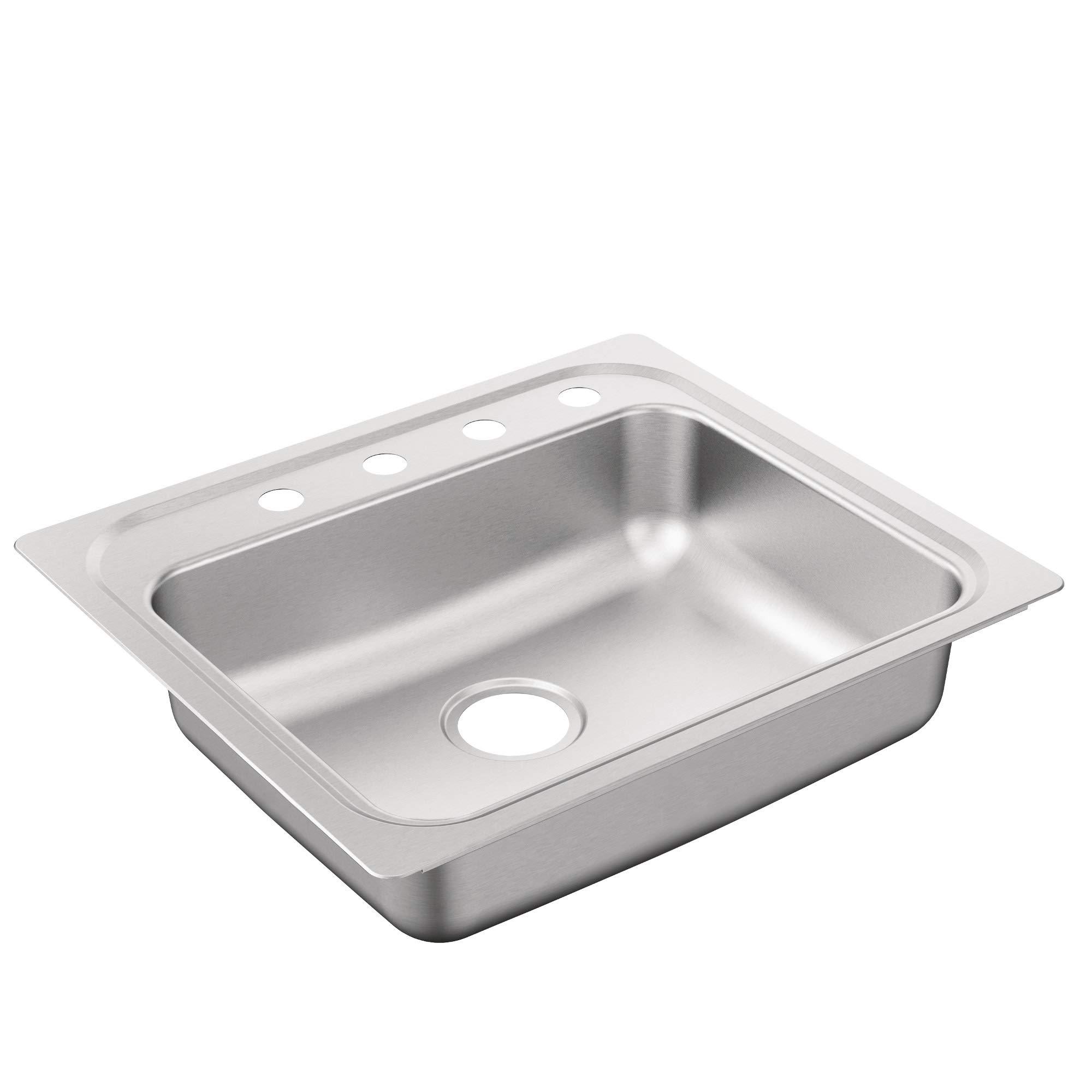 Moen G221984B 2200 Series Sink Brushed/Satin Stainless