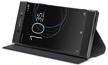 Sony Style Cover Stand - Carcasa para Xperia XA1 Ultra, Color Negro