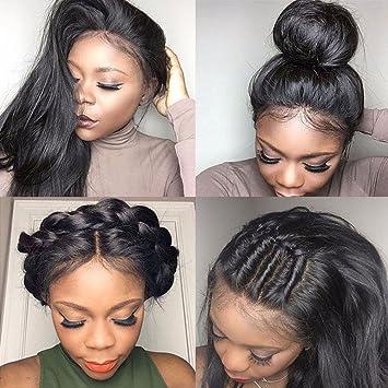 Amazon.com   gLoaSublim Long Lace Front Wigs 80e22010e8