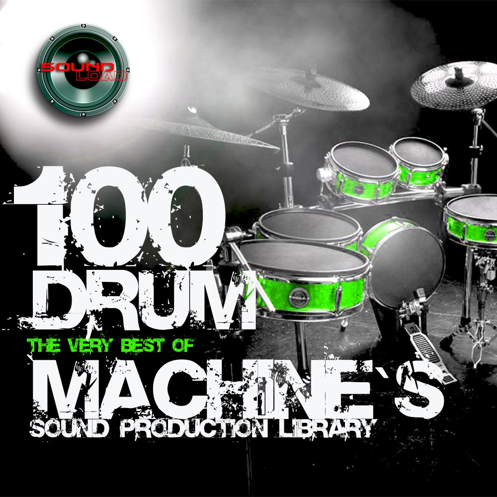 100 DRUM MACHINES - the best Original WAVEs Studio Samples Library 4.67GB on DVD or download by SoundLoad
