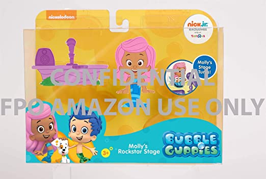 Amazon com: Bubble Guppies Molly Stage: Toys & Games