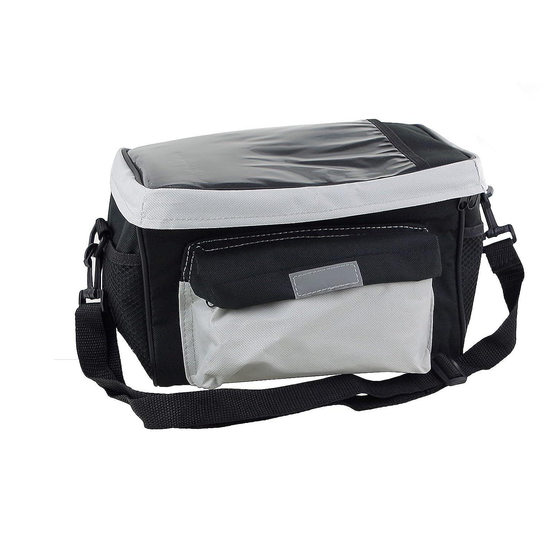 Fahrradtasche 26x17x18cm Lenkertasche Kühlfunktion Kartenfach Regenschutz Tasche