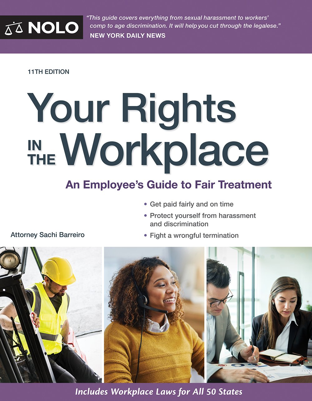 Your Rights in the Workplace: An Employee's Guide to Fair Treatment: Sachi  Barreiro Attorney: 9781413325416: Amazon.com: Books
