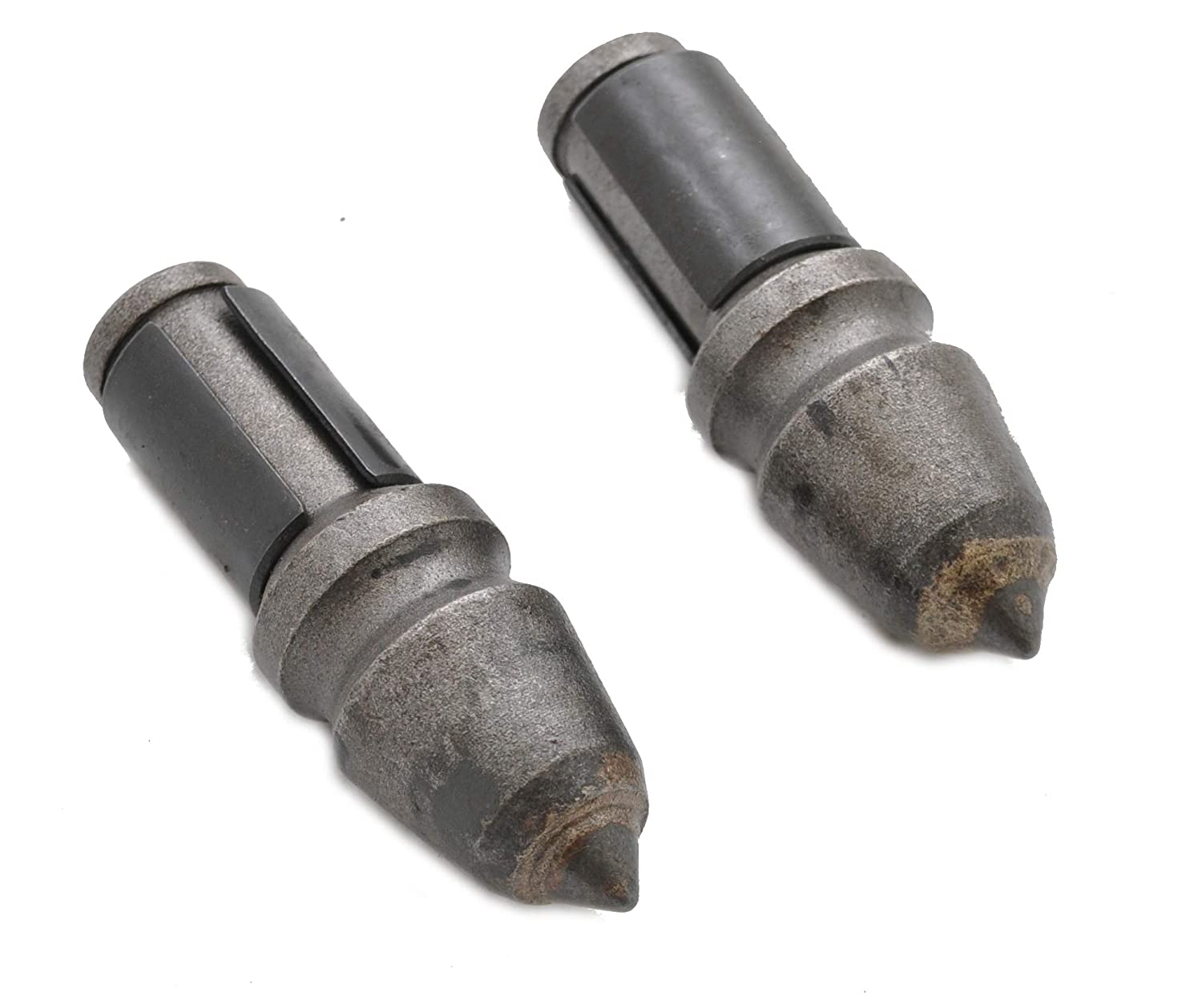 Pair of C21 Carbide Bullet Teeth for Rock Augers ToolTuff