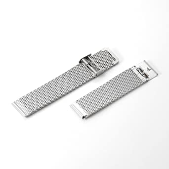 Reloj Correas , DHMXDC 22mm Inoxidable Acero Pulsera Reloj ...