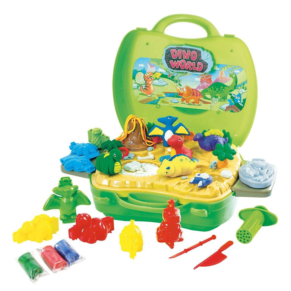 PlayGo Dough /& Carry Dino World Childrens Art Doughs