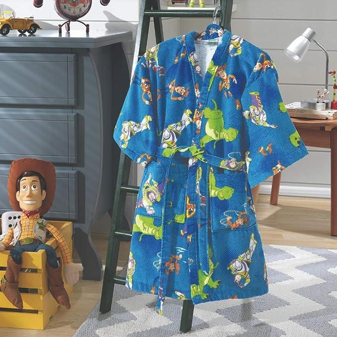70bd25c8a14c13 Roupão Infantil Aveludado Toy Story -Tamanho M - Dohler: Amazon.com ...