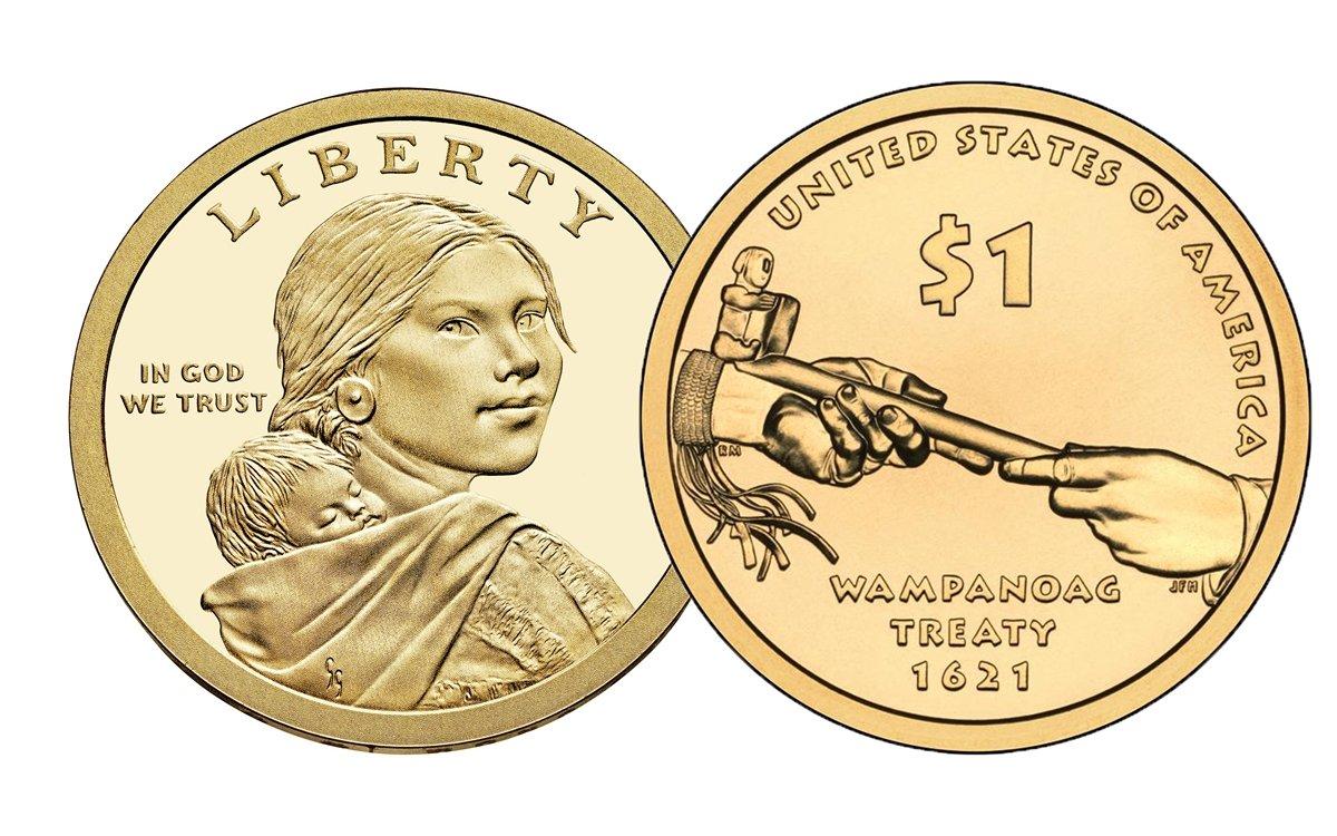 2011 S GEM PROOF Sacagawea Dollar
