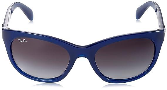 de16171a314 Ray-Ban Sunglasses Mod. 4216 60058G (56 mm) Opal blue Grey Gradient ...
