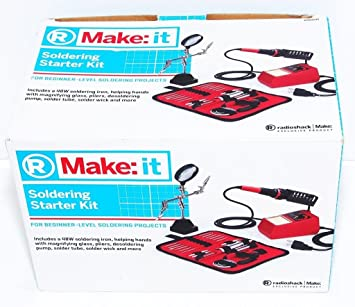 Buy NEW RADIO SHACK 6400245 SOLDERING STARTER KIT MAKE IT 48 WATT