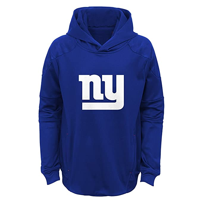 finest selection 9d2d4 2401c Amazon.com: New York Giants Youth Blue Primary Logo ...