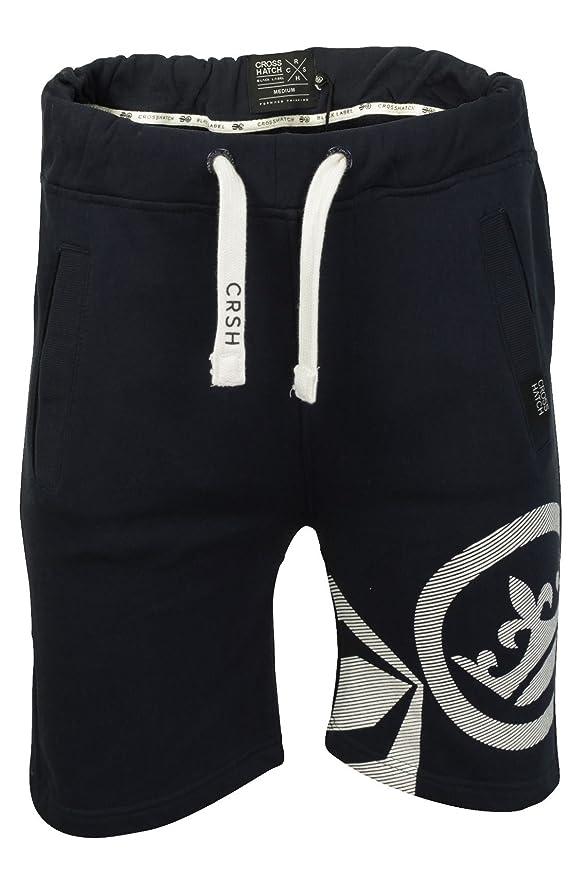 Mens Crosshatch Sylgo Jogging Sweatshorts Gym Running Sport Jogger Shorts:  Amazon.co.uk: Clothing