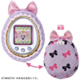 TAMAGOTCHI 4U Soft Case Dots and Ribbons from Japan