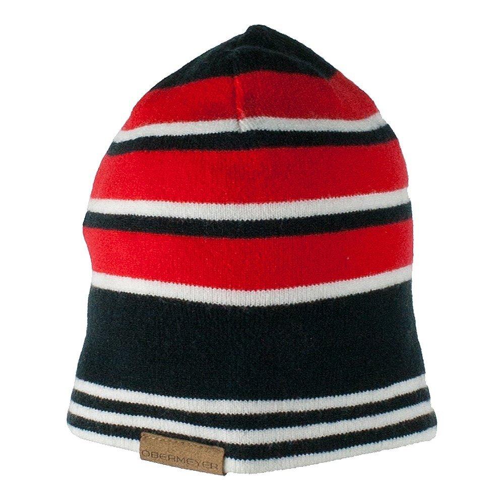 Obermeyer Boys Traverse Knit Hat Red Teen