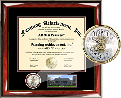 Columbia University 10/½ x 12/½ Matte Black Finish Infinity Diploma Frame