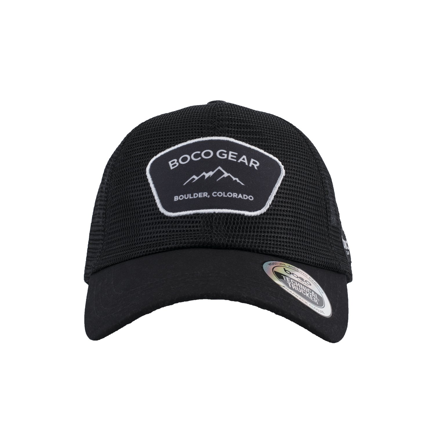 BOCO Gear Technical Trucker Hat - All Mesh