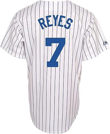 Amazon.com : Jose Reyes New York Mets Replica Home Jersey (Large ...