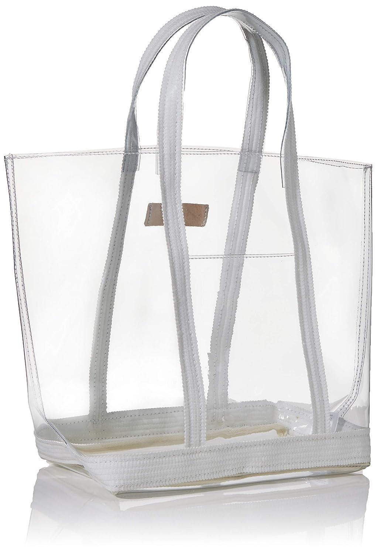 Vanessa Bruno dam Cabas Moyen tote, 16 x 30 x 43 centimeter Flerfärgad (Blanc/Chair)