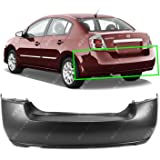 Rear Bumper Cover for 2007 2008 Nissan Maxima W//Park 07 08 NI1100245 Primered MBI AUTO