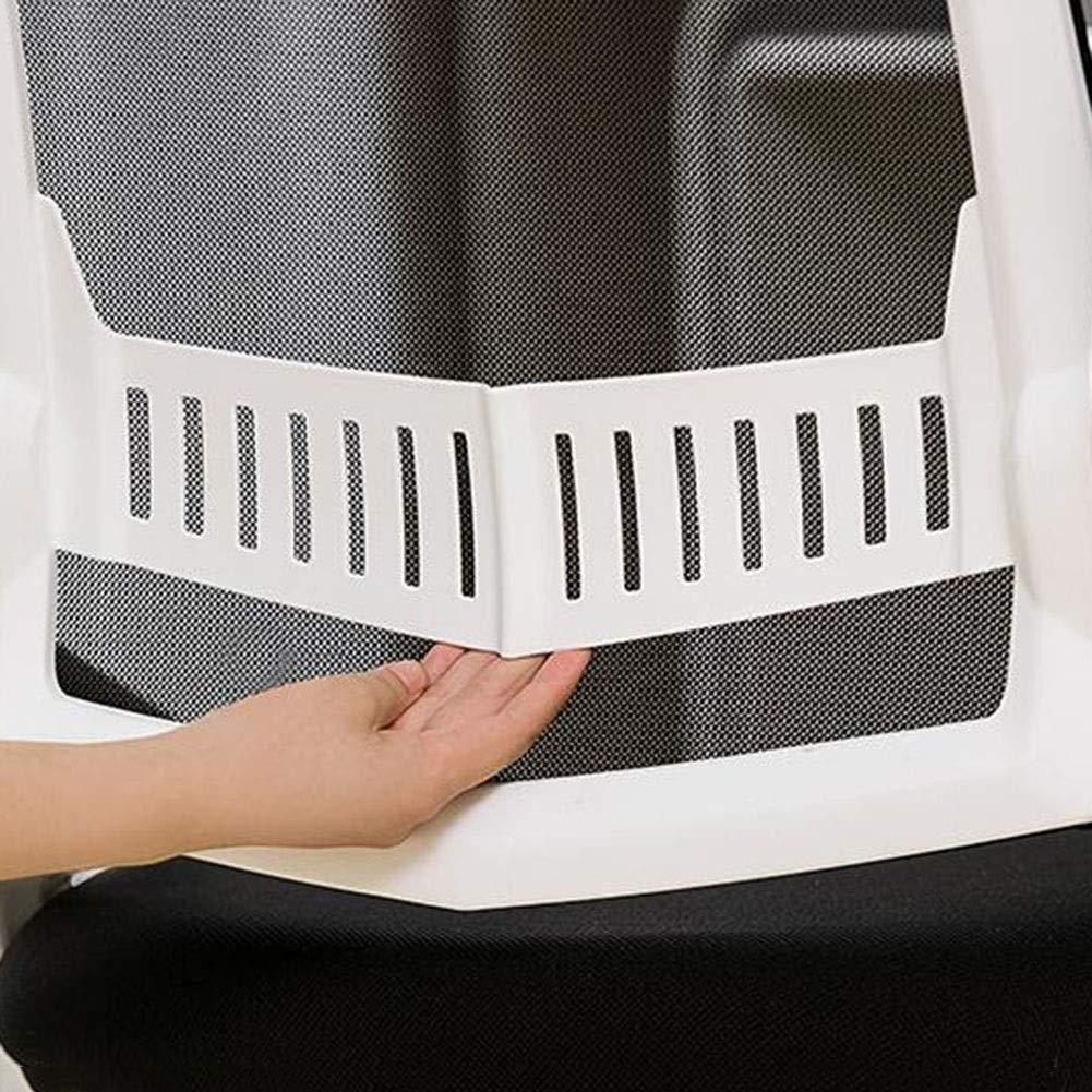 WYYY stolar kontorsstol roterande räcke bågform ergonomisk nätstol verkställande konputer stol andningsbar hållbar stark (färg: Vit) Vitt