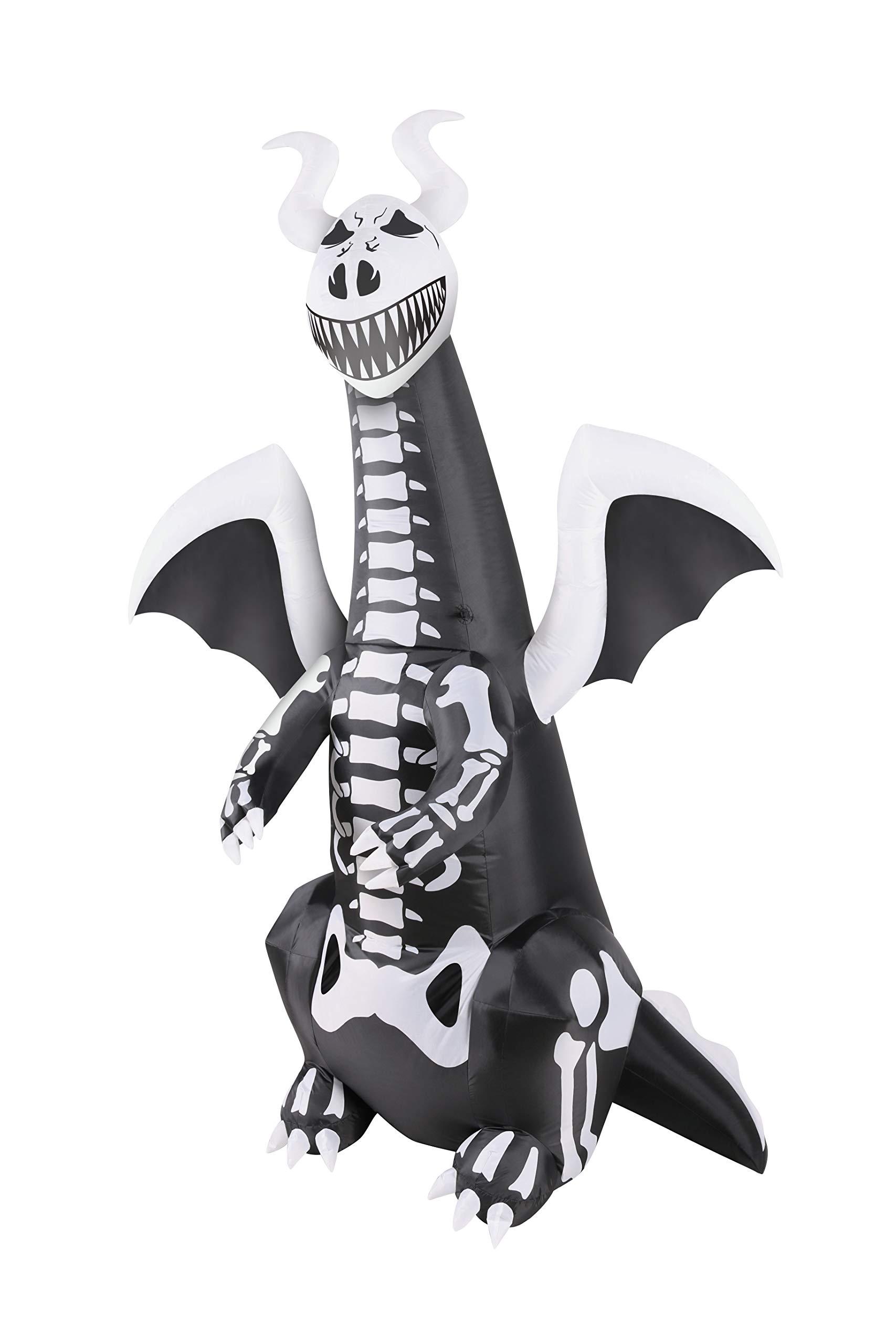 BANZAI 7' Inflatable Skeleton Dragon by BANZAI