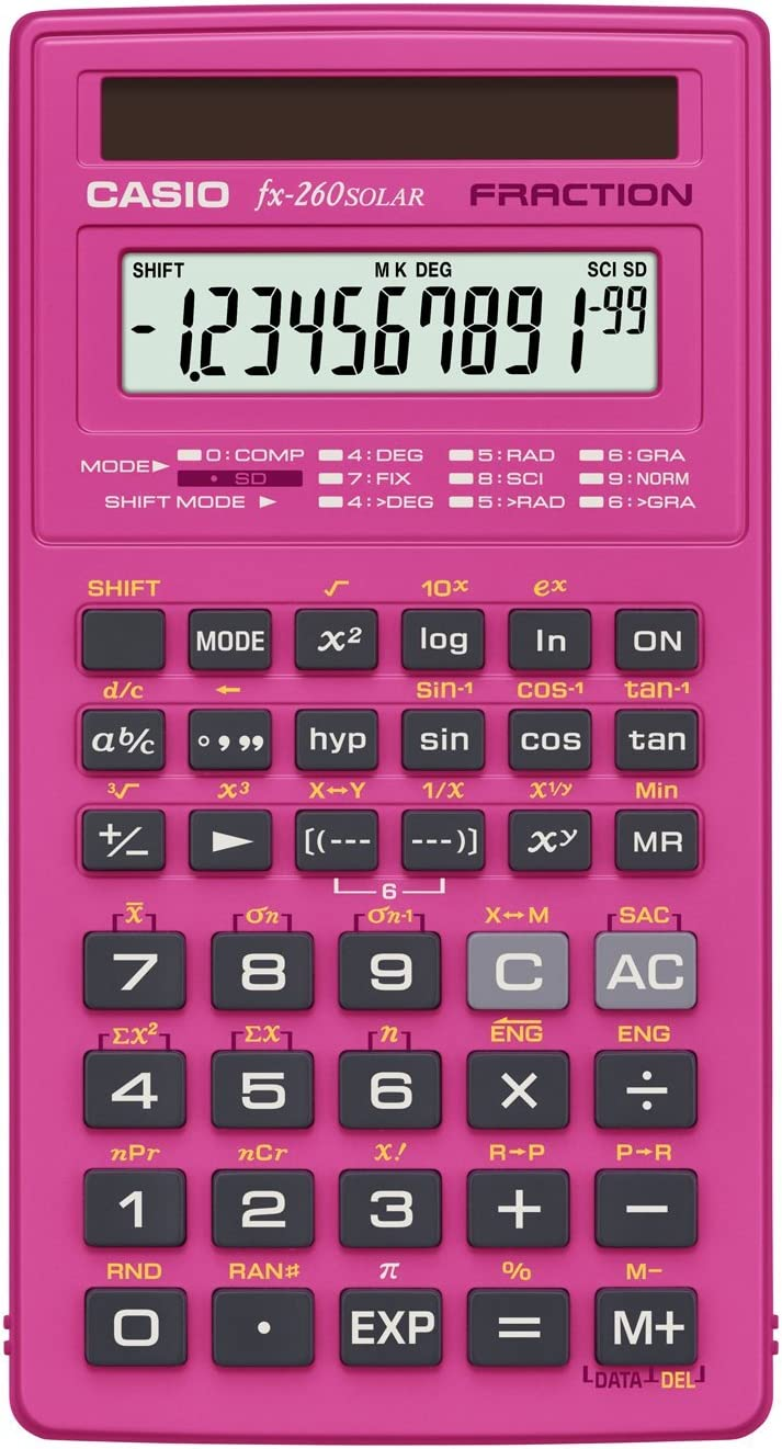 Best calculator pink 2020