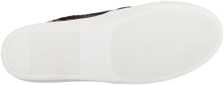 STEVEN by Steve Madden Women's Tatum Sneaker B0744R5FN4 9 B(M) US|Black/Multi