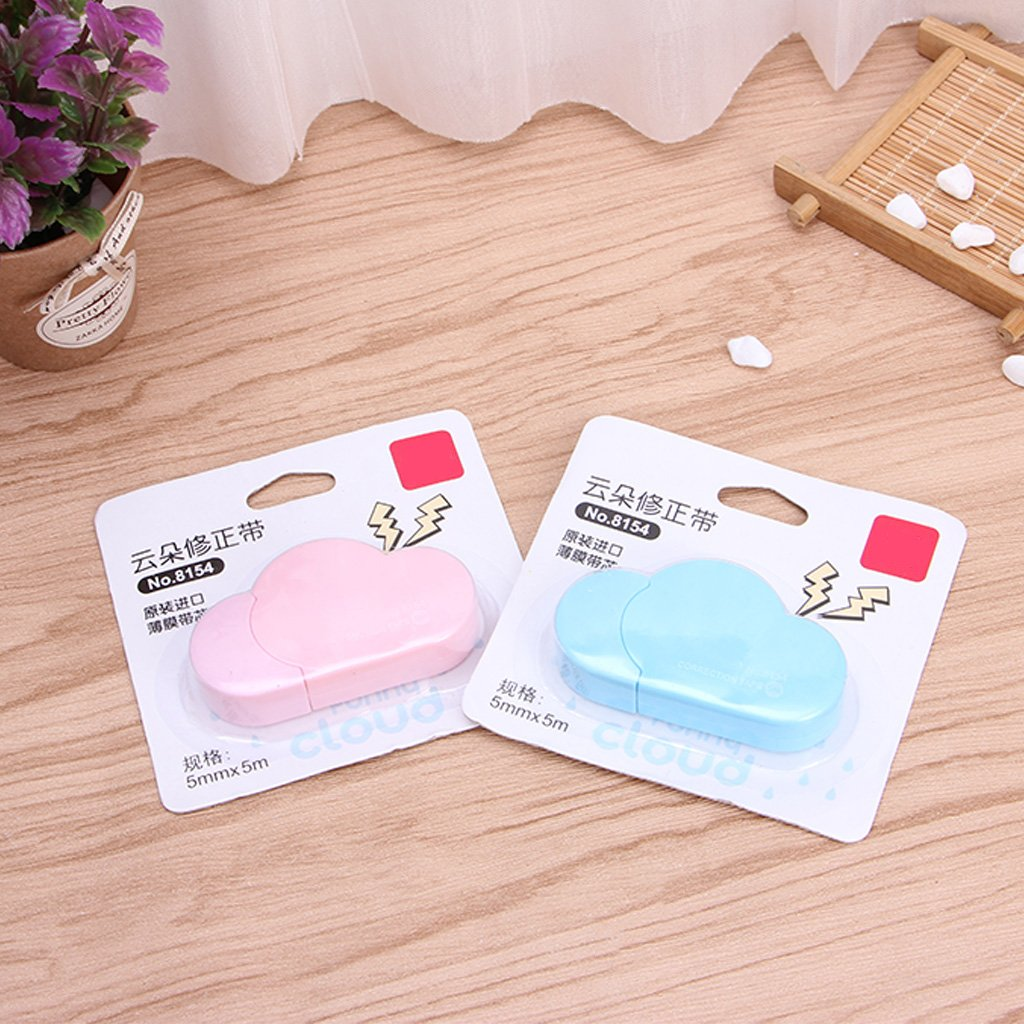 Zobeen 5m Cloud Mini Correction Tape Sweet White Out Stationery School Office Supply