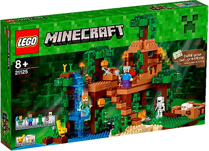 LEGO® MinecraftT 21125 Das Dschungel-Baumhaus