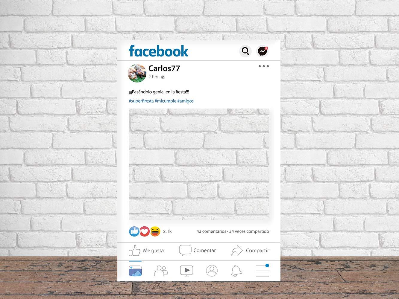 Photocall Facebook 2019 100 x 80 cm | Regalos para ...