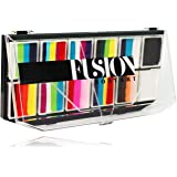 FUSION BODY ART Professional Quality Face Painting Palette - Rainbow Explosion   Safe & Non-Toxic Makeup Face Paint Kit for K