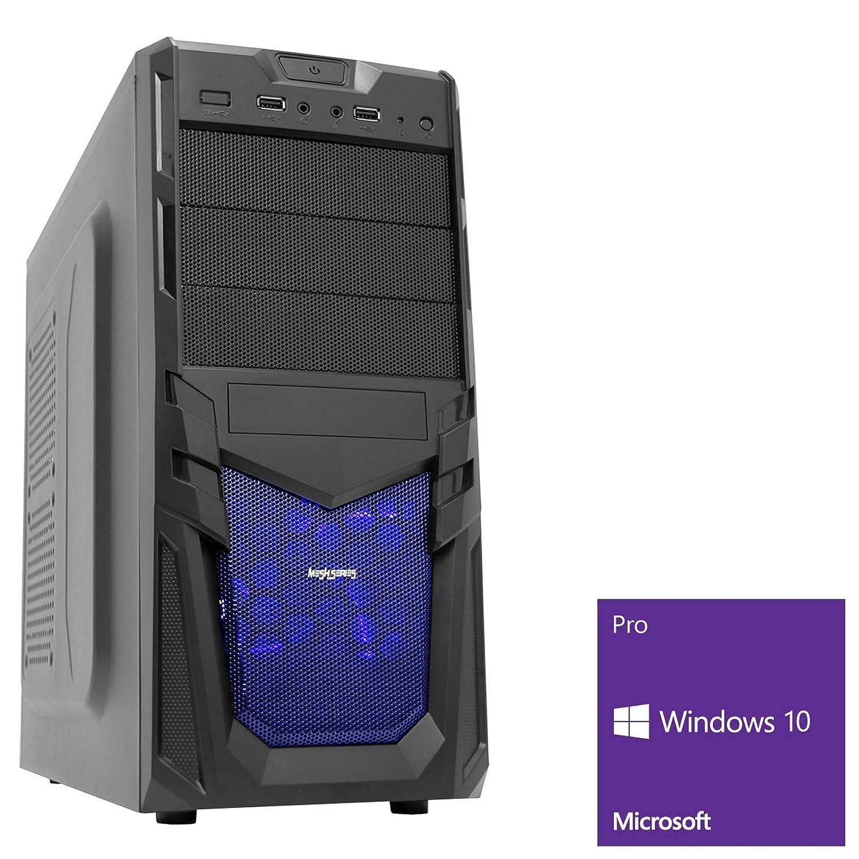 OCHW Venom Ultra Fast Gaming PC AMD A8 9600 Quad Core 4.20GHz ATI Radeon HD R7 Graphics 16GB DDR4 2400MHz 1TB Hard Drive 240GB SSD 300MPS WiFi Windows 10 PRO