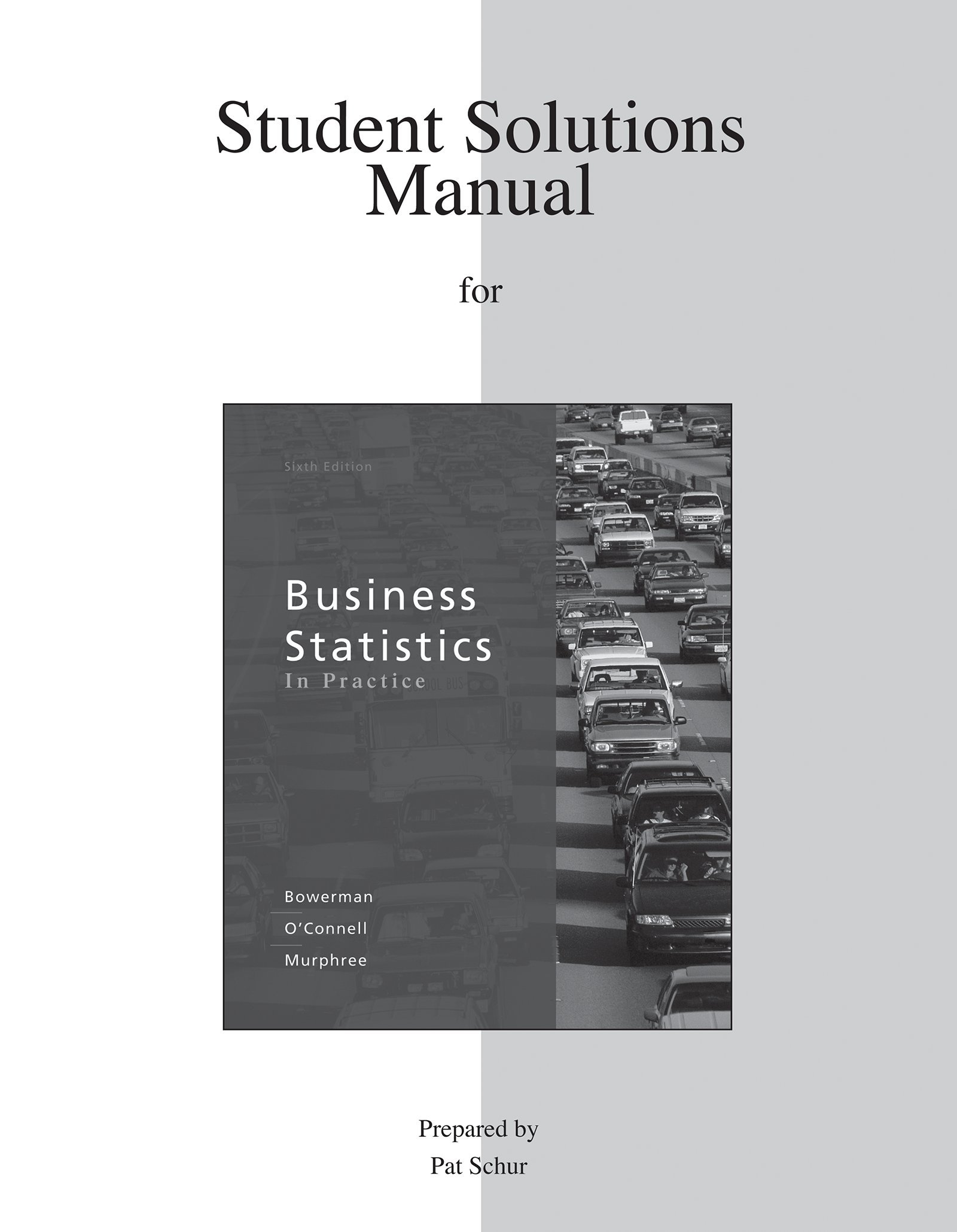 buy student solutions manual for business statistics in practice rh amazon in Business Statistics Examples Business Statistics Articles