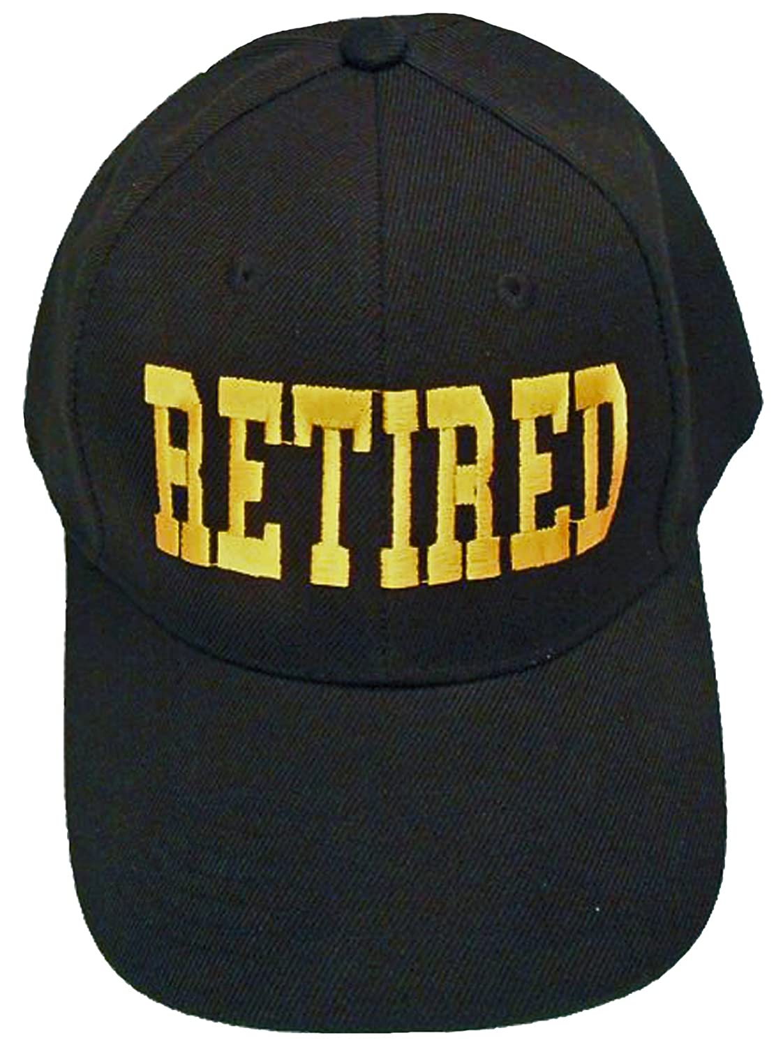 f47b7c291fc Buy caps and hats retired cap black hat bcah bumper sticker for retirement  party mens womens