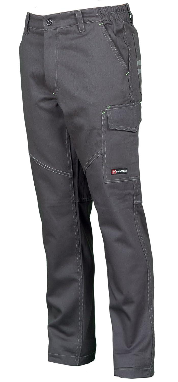 7f56fe39f1d8 Pantaloni da Lavoro Payper Worker multistagione Cotone 100% Comodi e  Resistenti