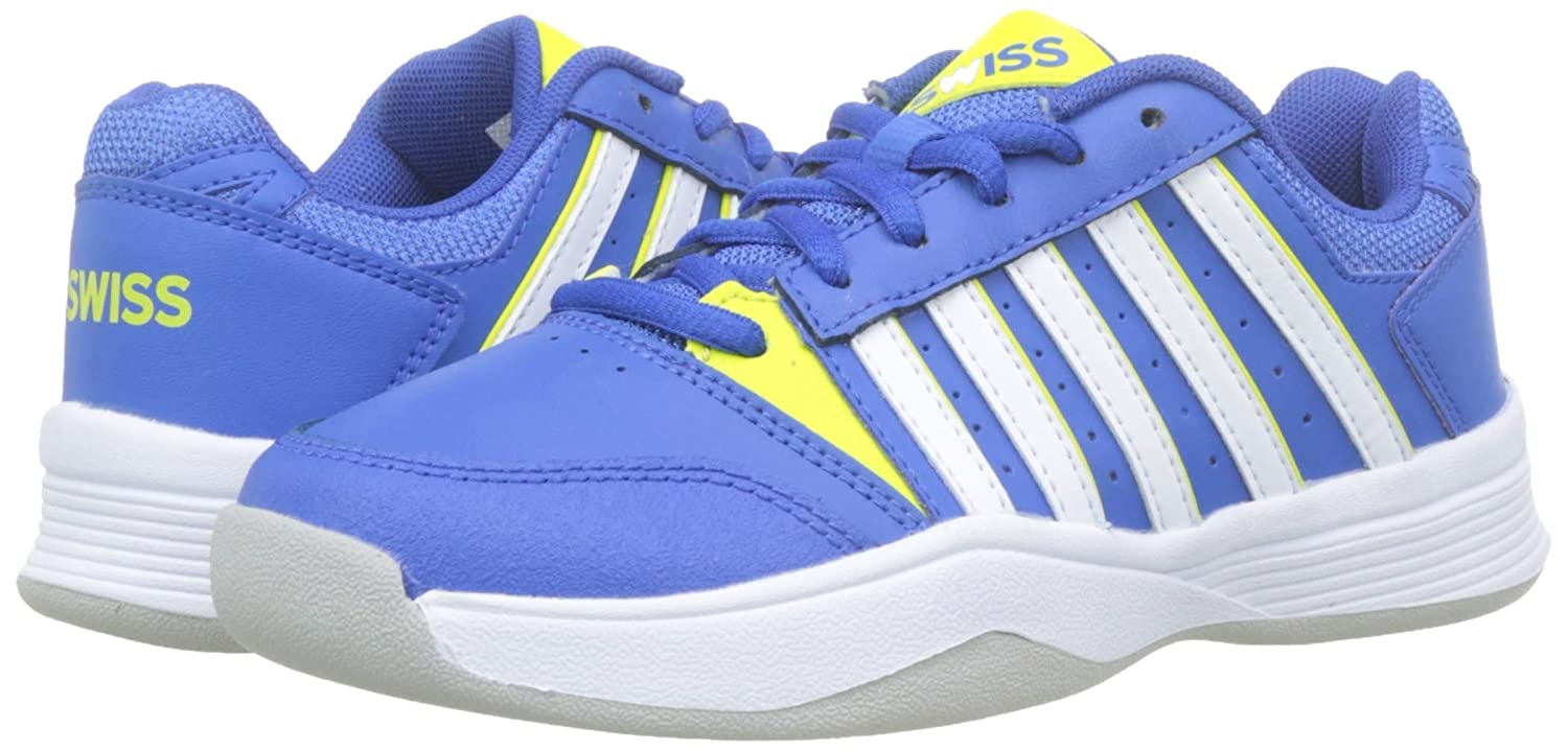 Zapatillas de Tenis para Ni/ños K-Swiss Performance Court Smash Carpet-strngblu//Nenctrn//WT-m