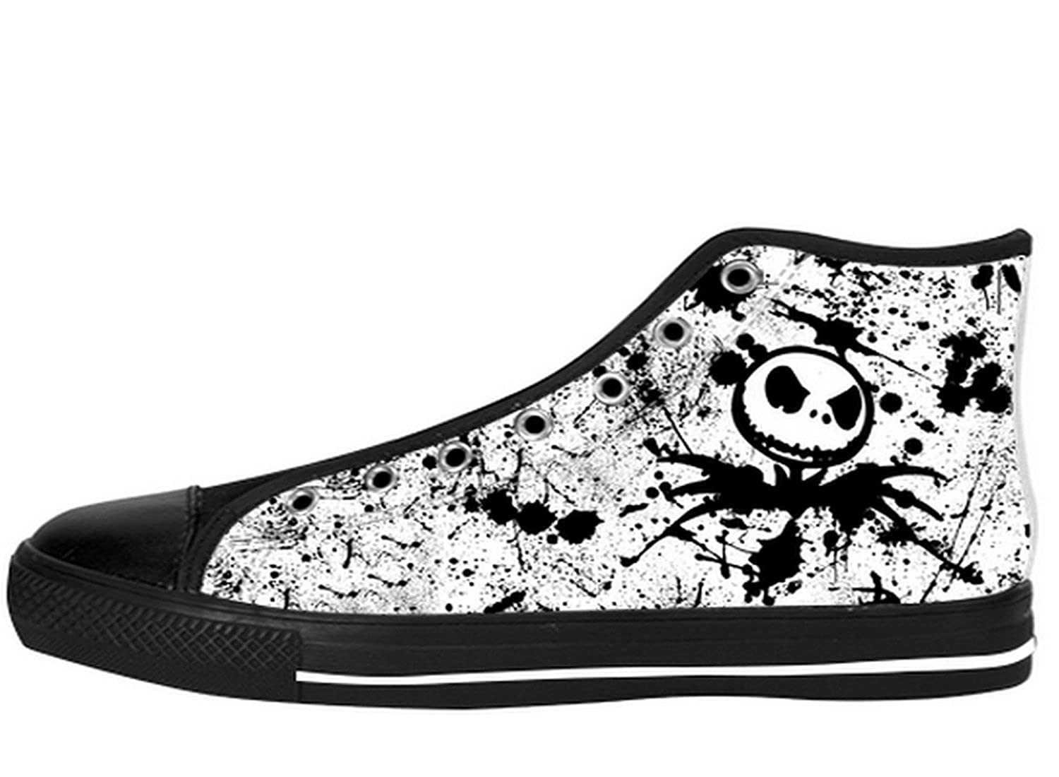 Women\'s TNBC Canvas High Top Shoes Nightmare Before Xmas 80%OFF ...