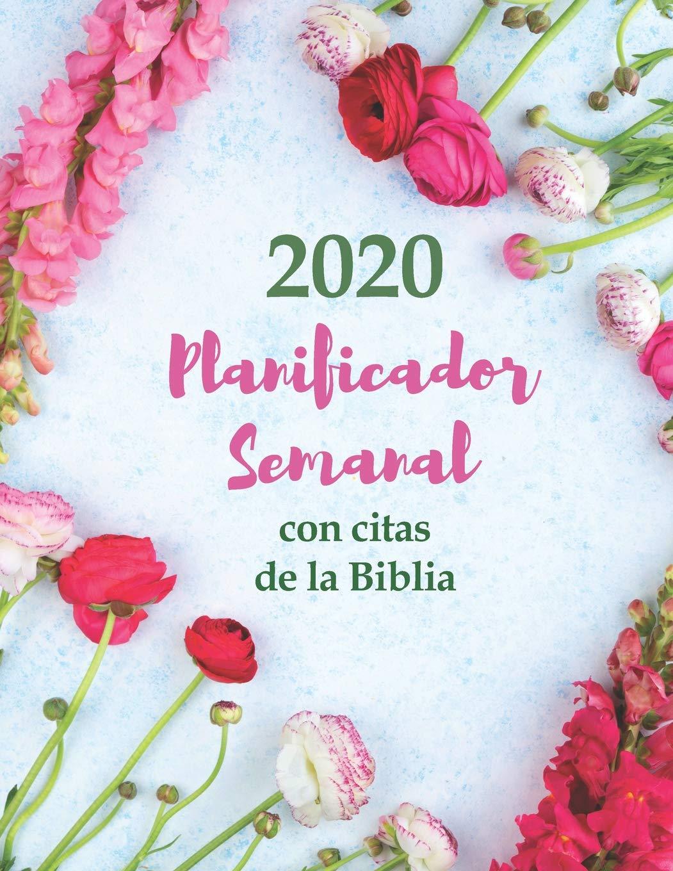 2020 Planificador Semanal Con Citas De La Biblia   Una ...