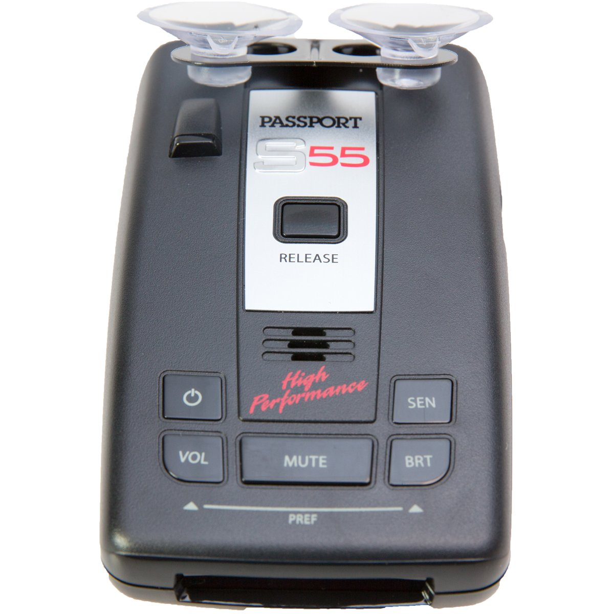 Escort Passport S55 High Performance Pro Radar and Laser Detector with DSP (High-Intensity Red Display) by Escort (Image #4)