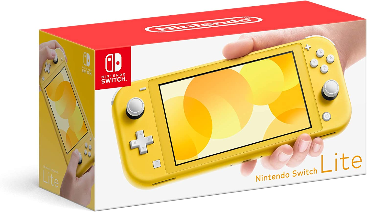 Amazon Com Nintendo Switch Lite Yellow Electronics