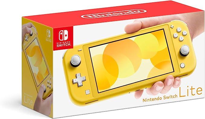 Amazon Com Nintendo Switch Lite Yellow Electronics