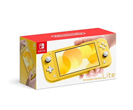 Amazon.com: Nintendo Switch Lite - Yellow: Video Games
