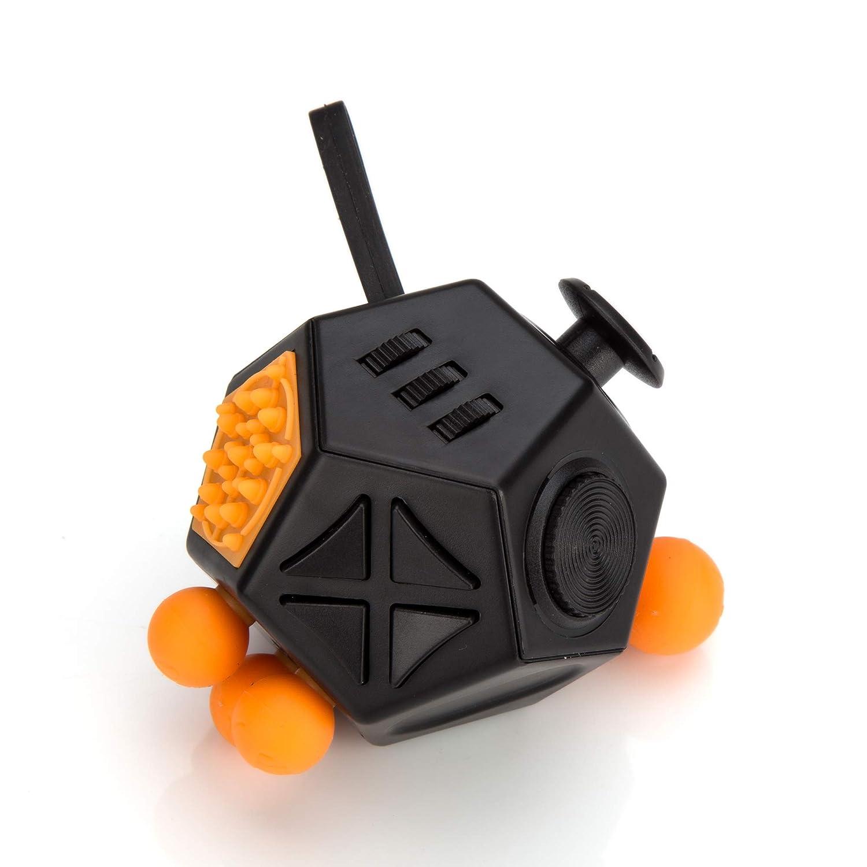 Anti Stress Spielzeug Fidget Cube 12 Seiten Stressw/ürfel Entspannung f/ür Jung und Alt von PhoneStar